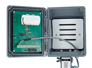 Blancett® B2900 Industrial Flow Monitor Open View